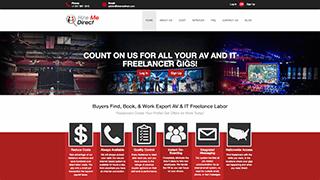 HireMeDirect - On Demand Freelance AV Labor