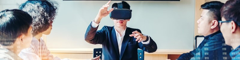 Business Meetings in Virtual Reality — It's Happening!